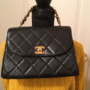 🌹PRE-OWNED/PRE-LOVED VINTAGE RARE CHANEL PURSE